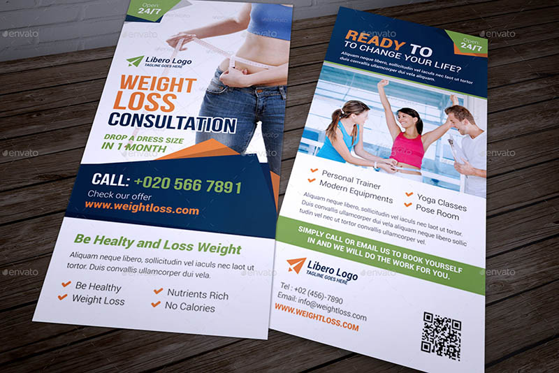 DL Fitness Flyer Template