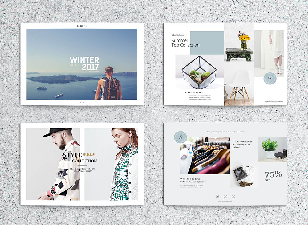 InDesign Postcard Flyer Template