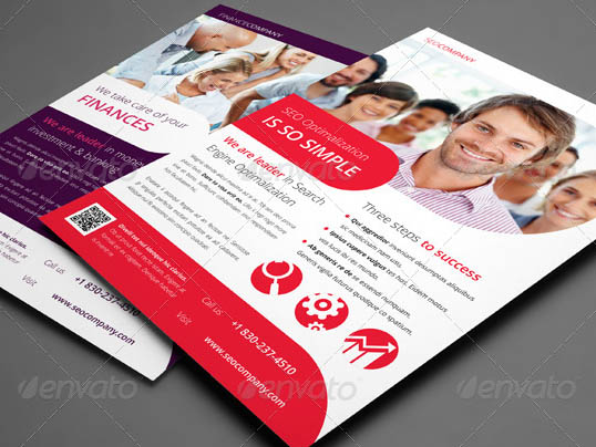 Multipurpose Corporate InDesign Flyers
