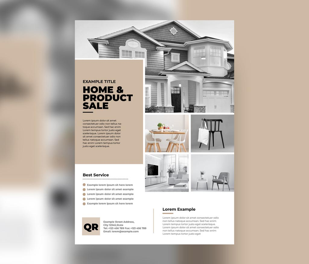 Multipurpose Flyer Layout for InDesign