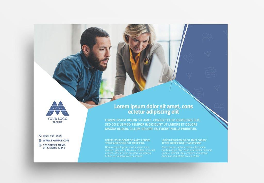 Multipurpose Modern InDesign Business Flyer Template