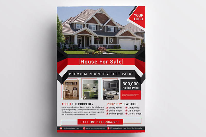 Premium Real Estate Flyer Template