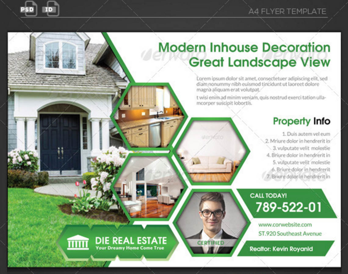 Property Marketing Flyer Template