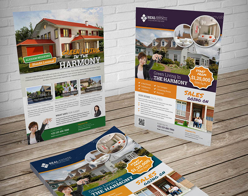 Real Estate Flyer Templates for InDesign