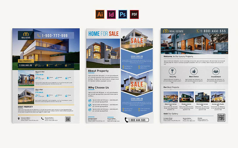 Realtor Flyer Template InDesign