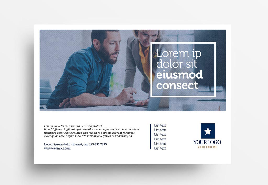 Simple INDD Business Flyer Template