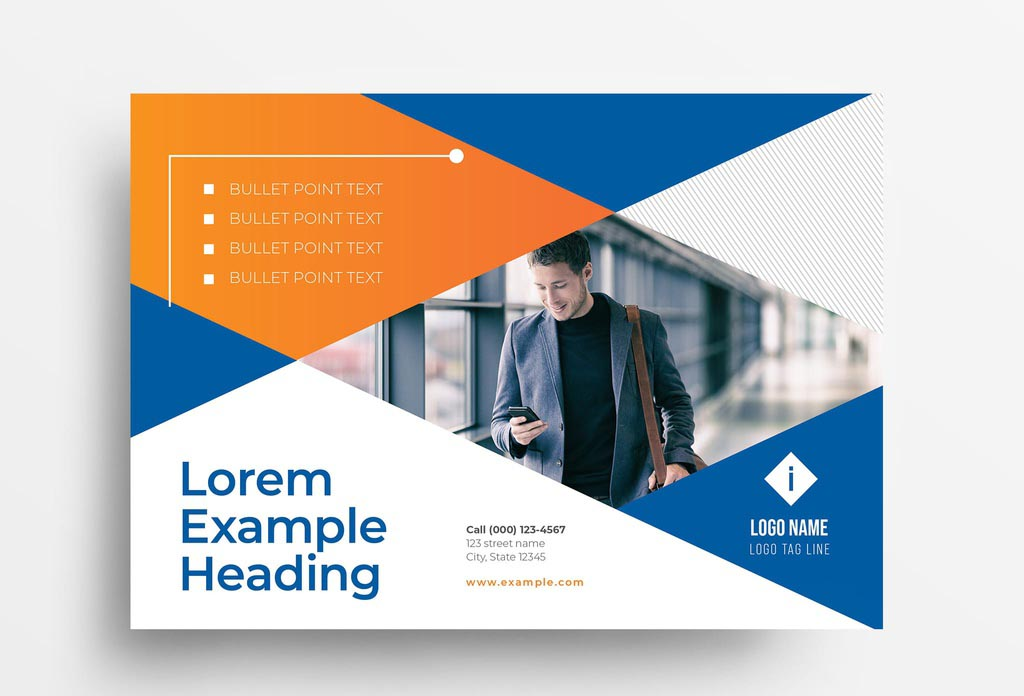Simple InDesign Business Flyer Template
