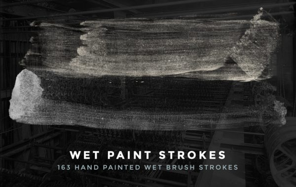 Wet Brush Strokes for Photoshop