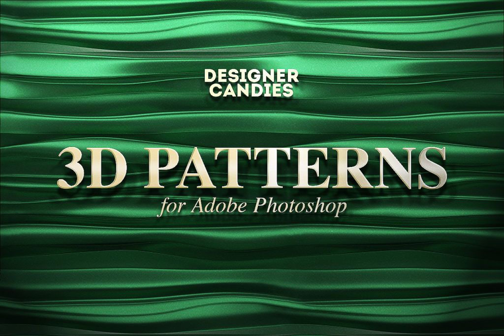 Free 3D Patterns for Photoshop
