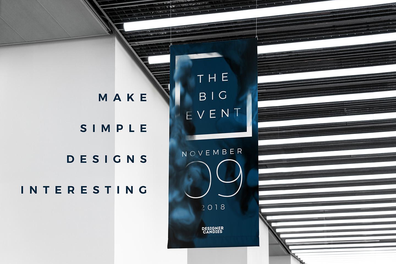 Make Simple Designs Interesting