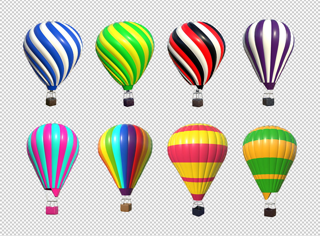 Free Balloons PNG