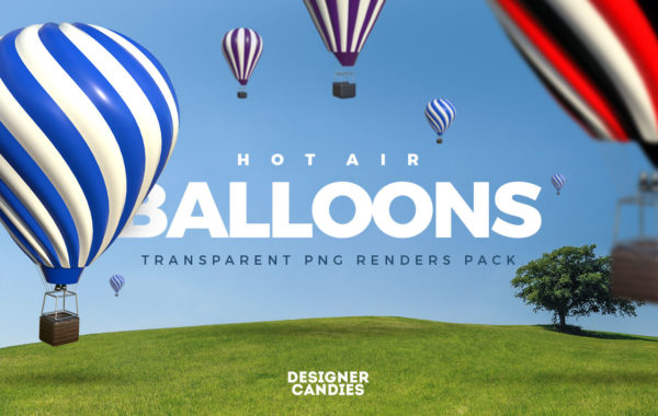 Free Hot Air Ballon PNGs