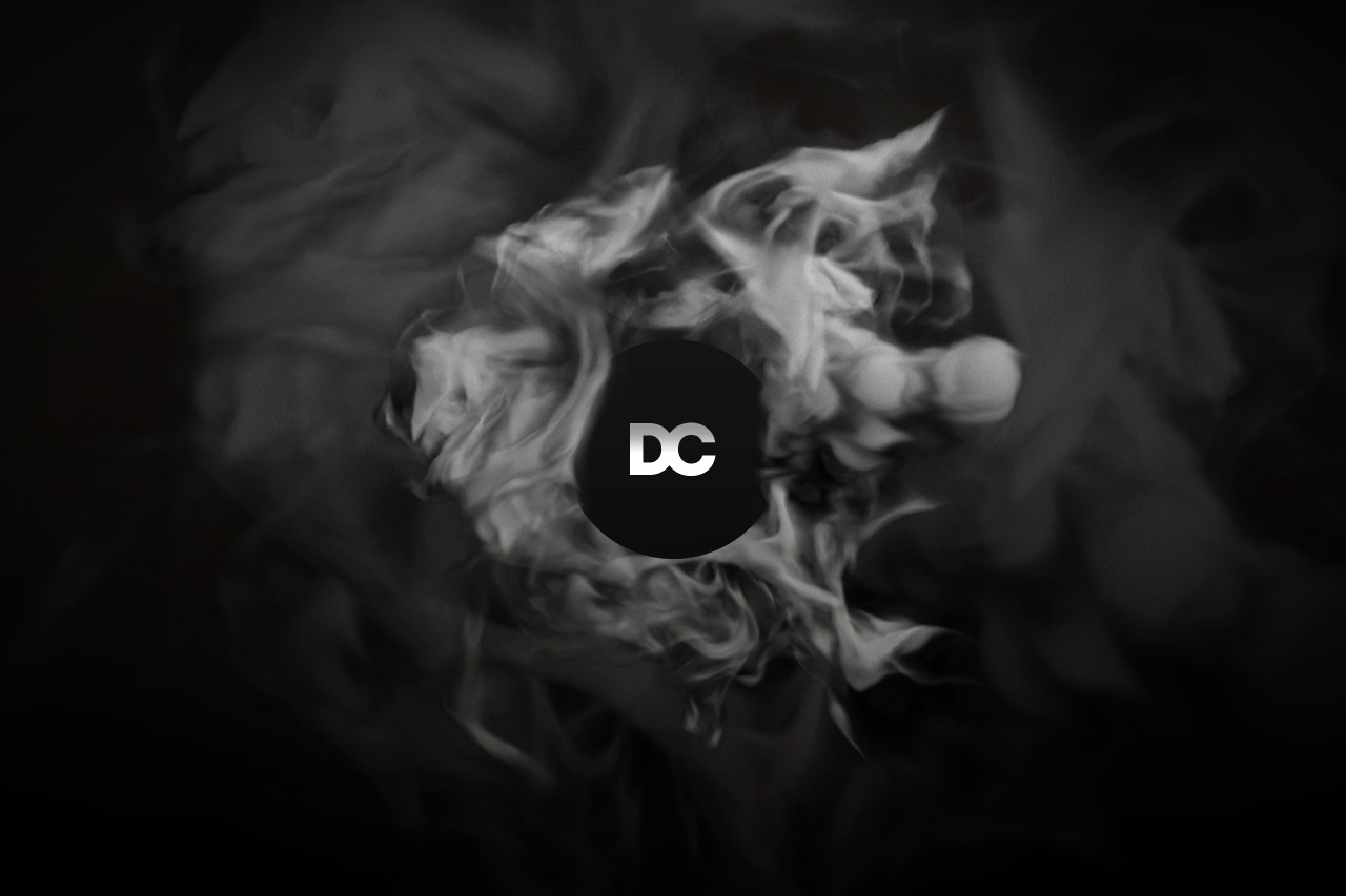 Logo With Transparent Smoke