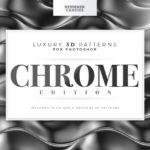 3D Chrome Patterns for Photoshop
