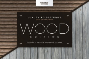 3D Wood Texture / Patterns for Photoshop