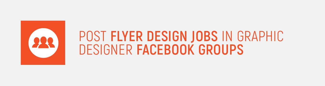 Flyer Design Facebook Groups