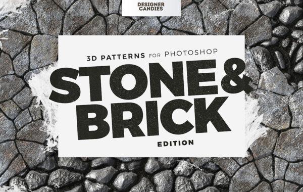 Stone & Brick Patterns for Photoshop