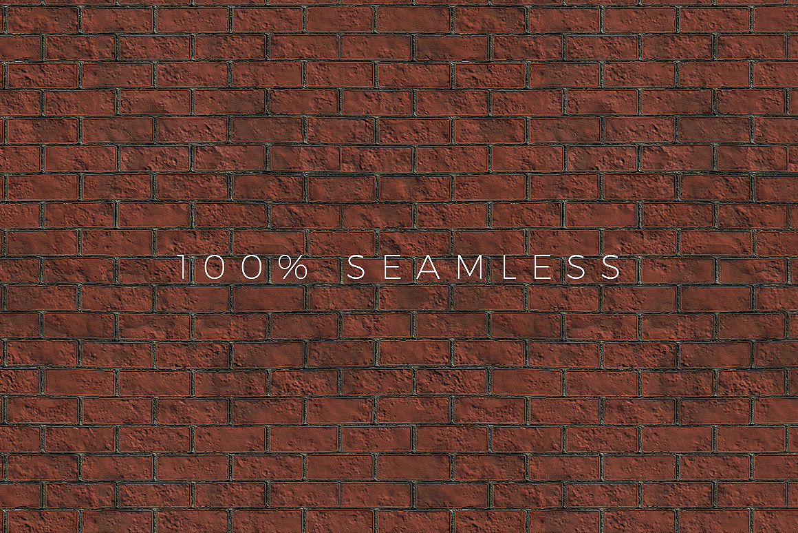 Seamless Brick Patterns for Photoshop