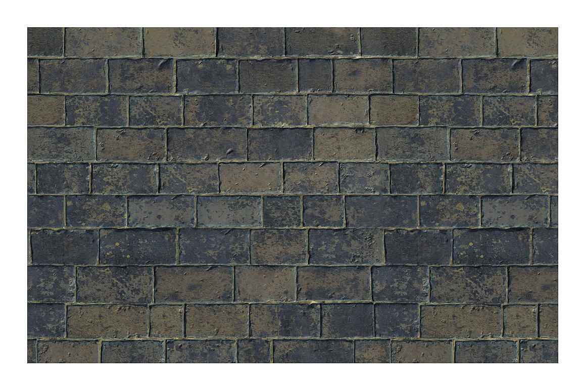 Brick / Stone Pattern for Photoshop