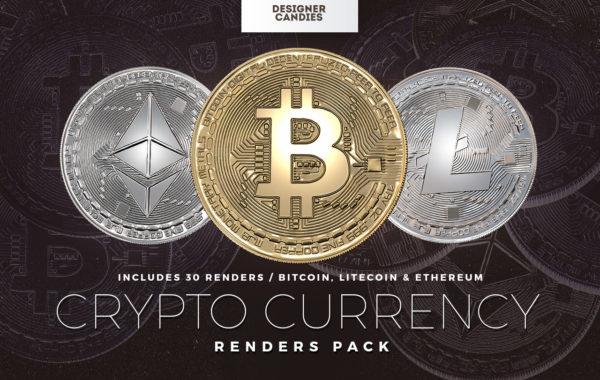 Cryptocurrency Renders Pack