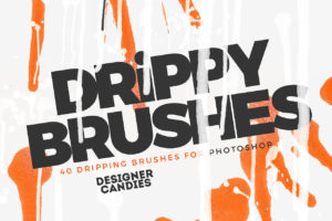 Dripping Brushes for Photoshop