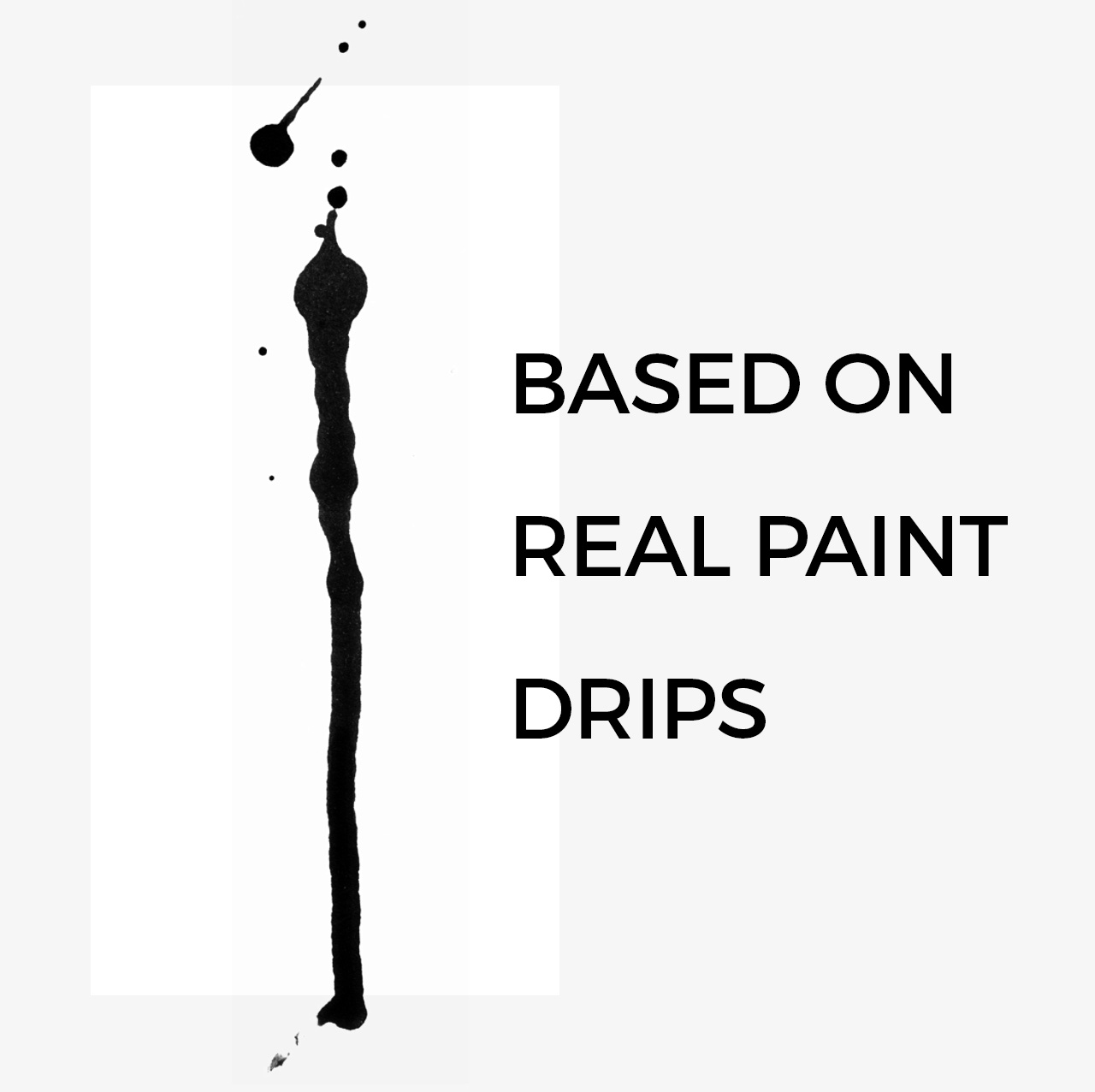 Real Paint Drip Brushes for Photoshop