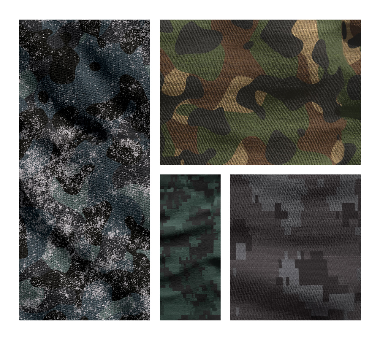 Camouflage Patterns PSD