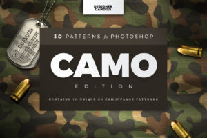 Military Camo Patterns for Photoshop