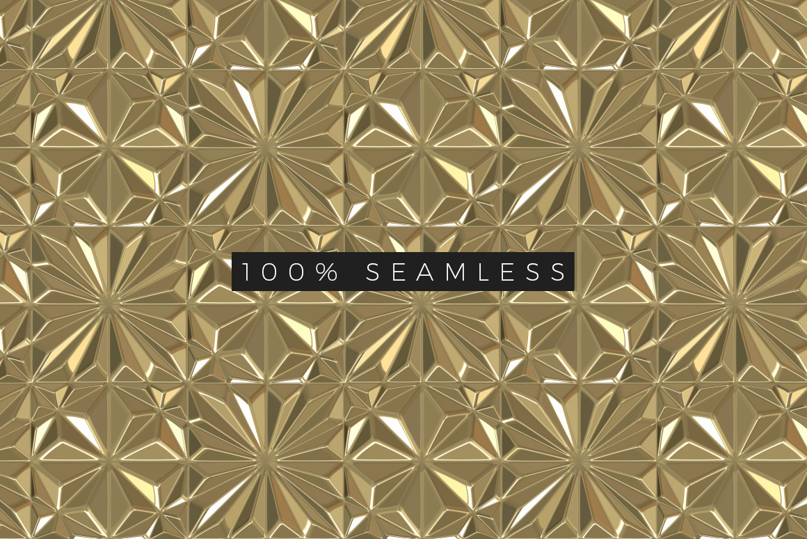 Seamless Art Deco Patterns