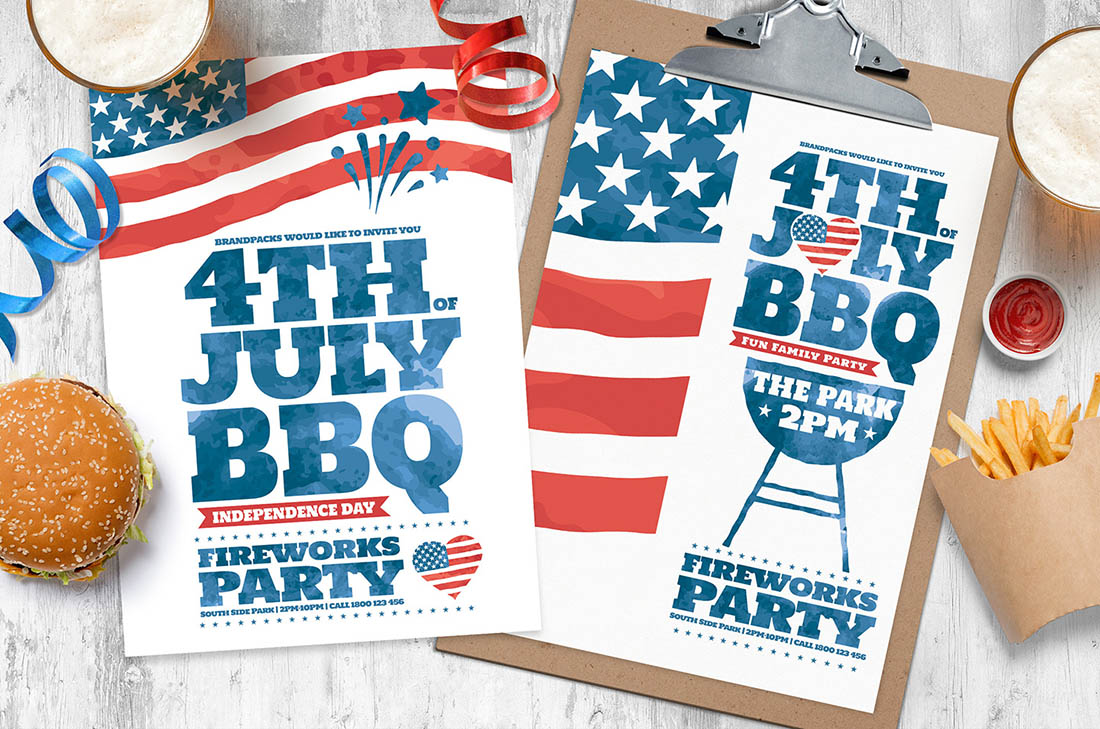 4th of July Flyer / Poster Templates