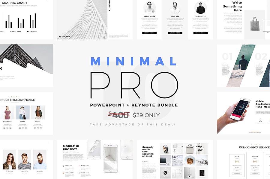 Minimal Pro PowerPoint Template