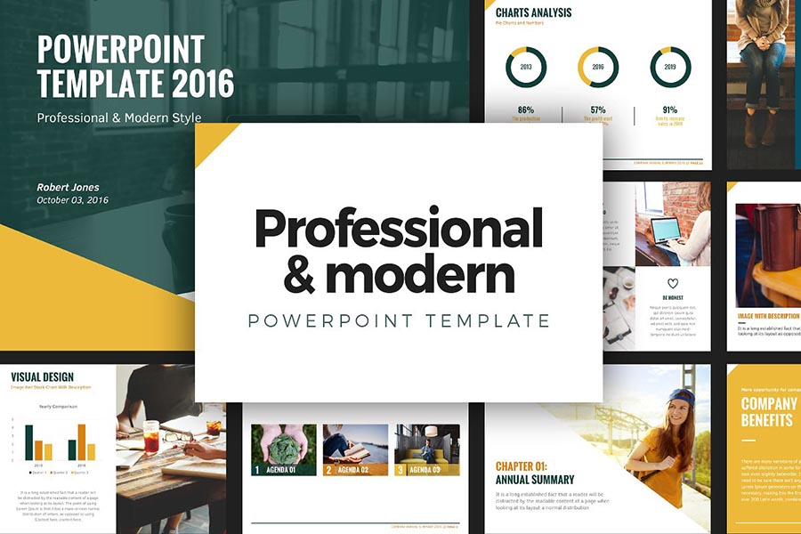 Modern PowerPoint Template