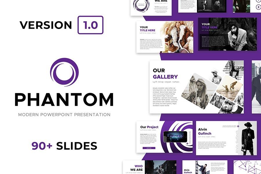 Phantom PowerPoint Template