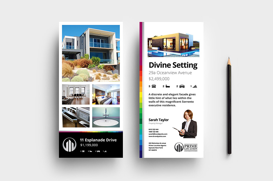Real Estate Agency DL Rack Card Template