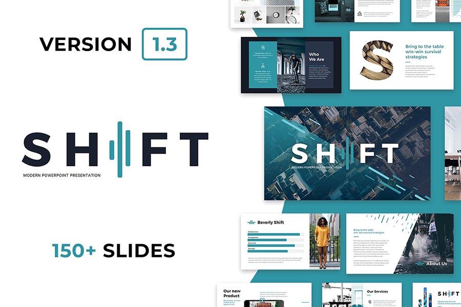 Shift Modern PowerPoint Template