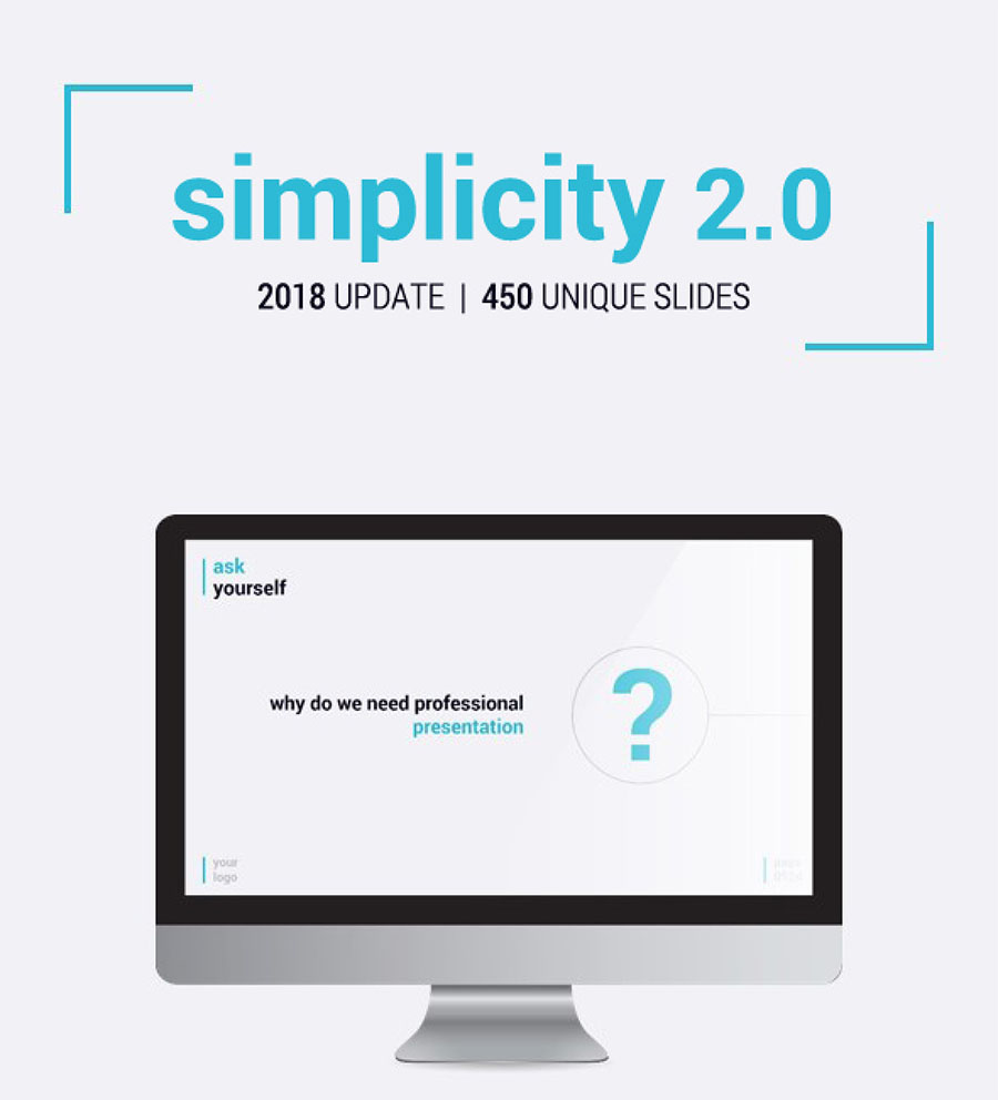 Simplicity 2.0 PowerPoint Template