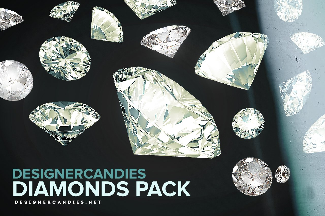 Designer Candies Diamond Packs