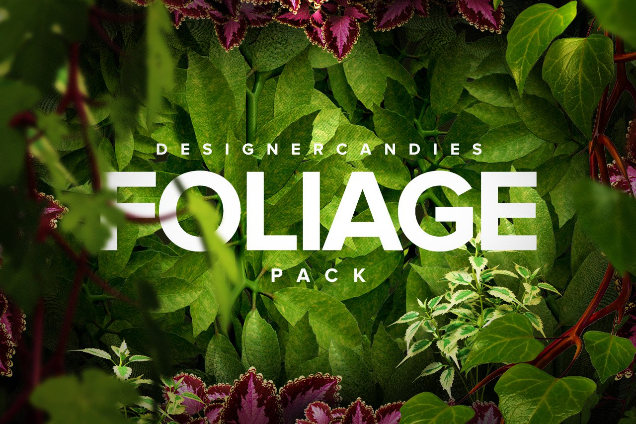 Designer Candies Foliage Pack
