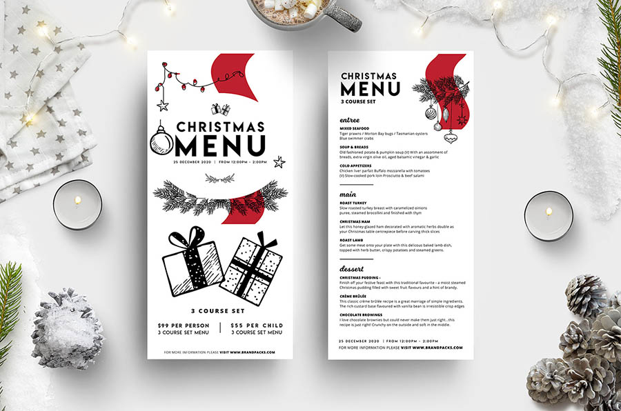 DL Christmas Menus Vol.3