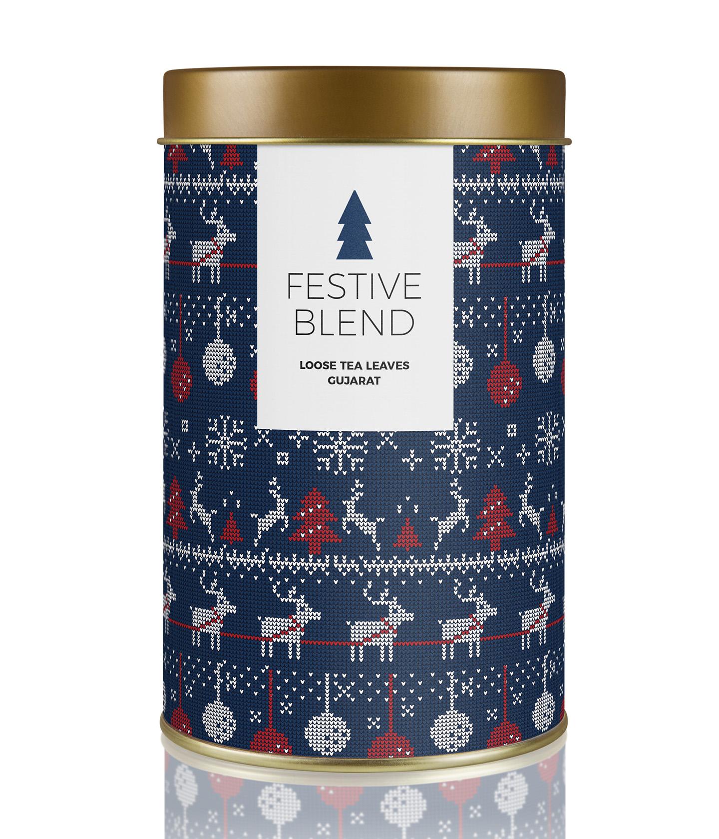 Free Christmas Patterns Mockup