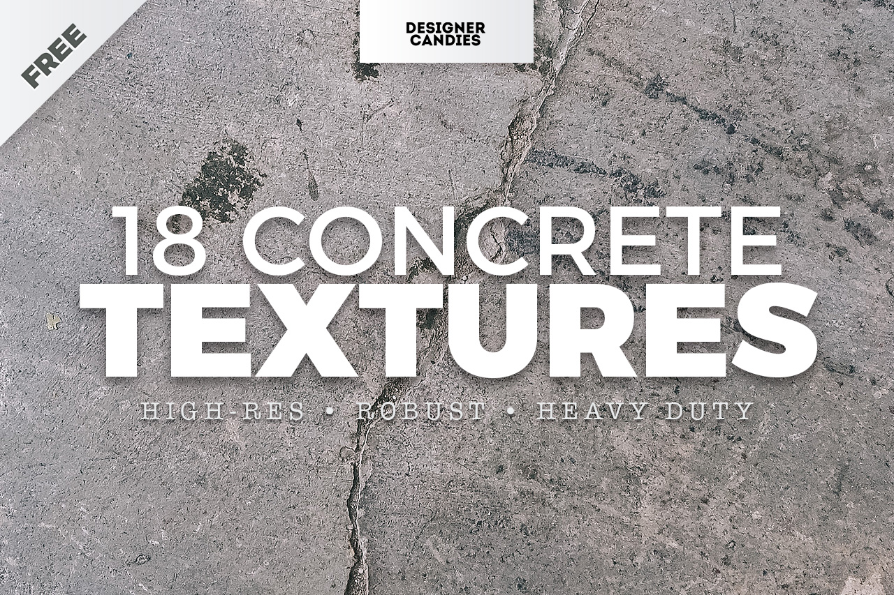 Free Concrete Textures - High Resolution JPEGs - DesignerCandies