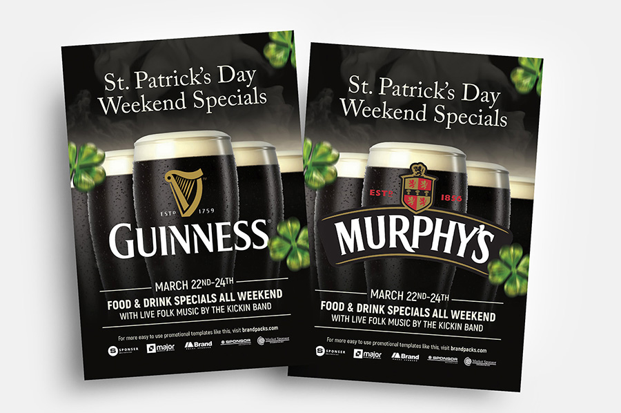 Free Stout Beer Flyer Templates