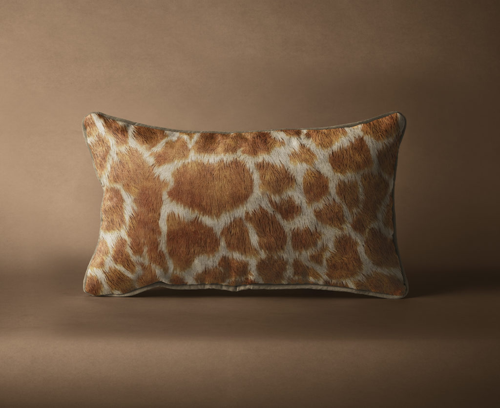 Giraffe Print Pattern Mockup