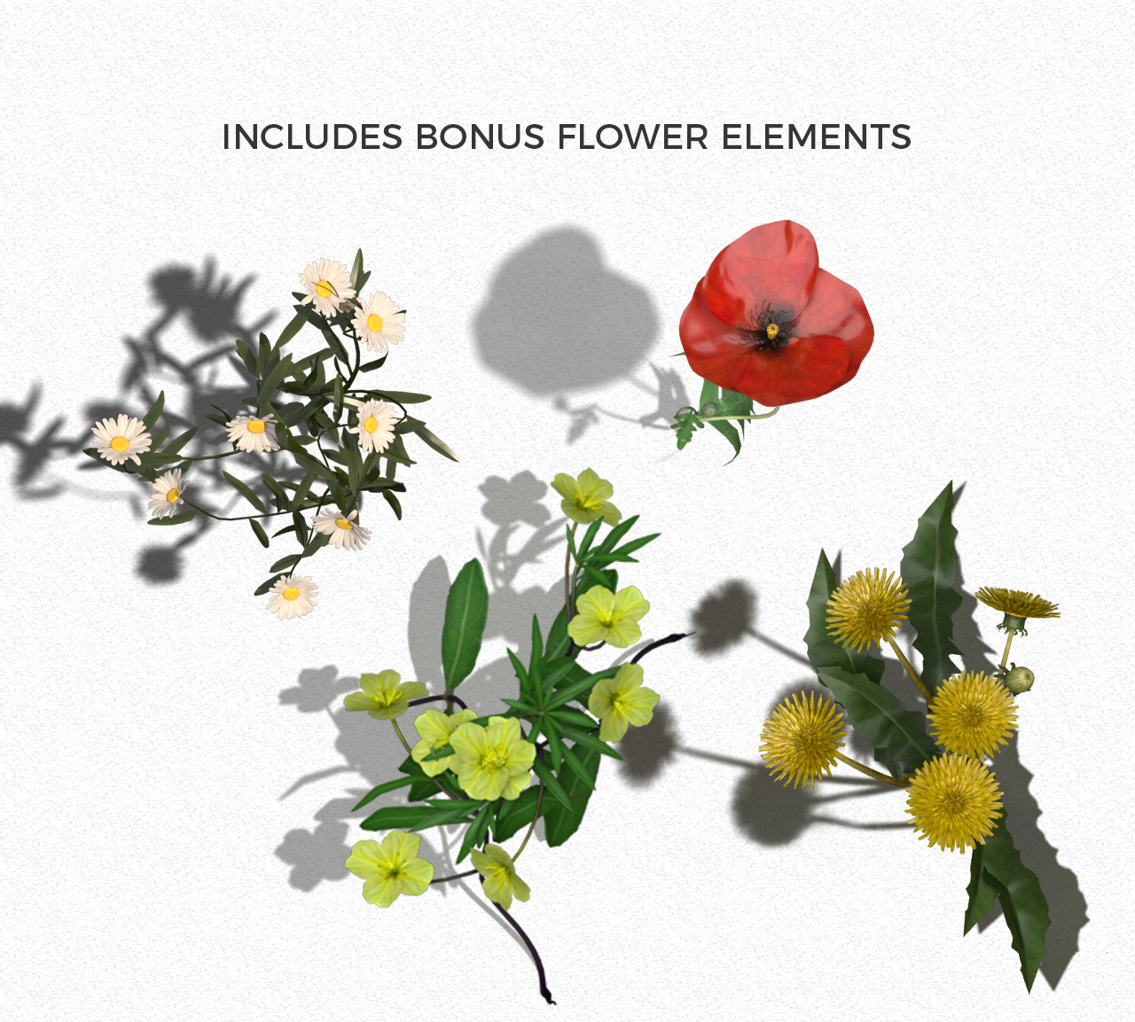 Bonus Flower Elements