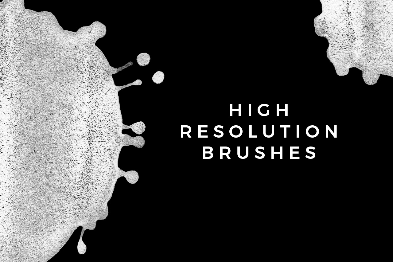 High Resolution Brushes