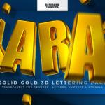 KARAT - Sold Gold 3D Lettering Kit