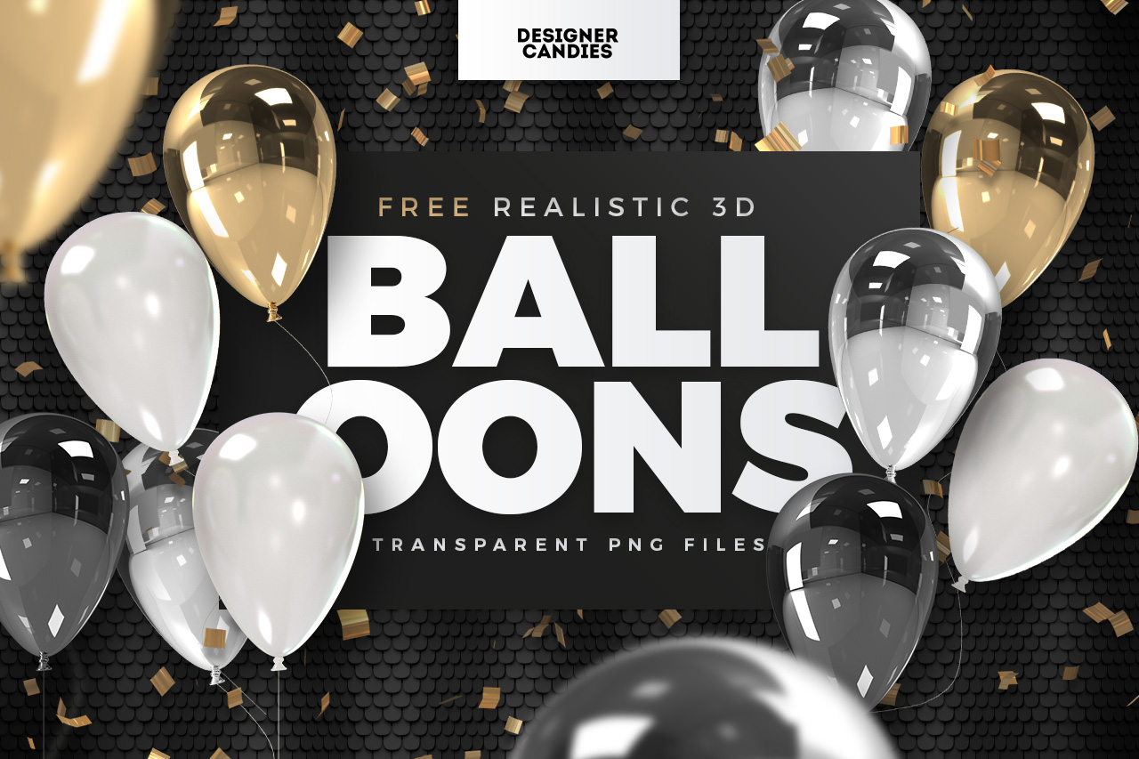 Free Transparent Balloons PNGs