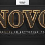 NOVO - 3D Lettering Pack
