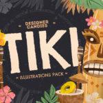 Tiki Vector Illustrations