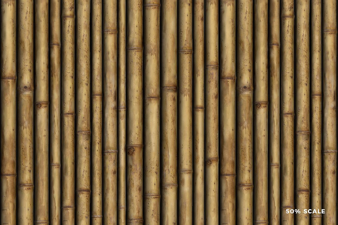 Seamless Bamboo Pattern 2